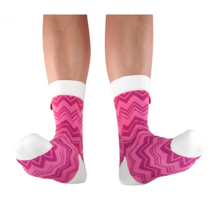 Tagsocks  Pink Wave