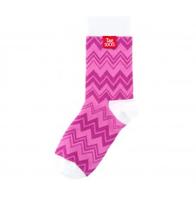 Tagsocks  Pink Wave1