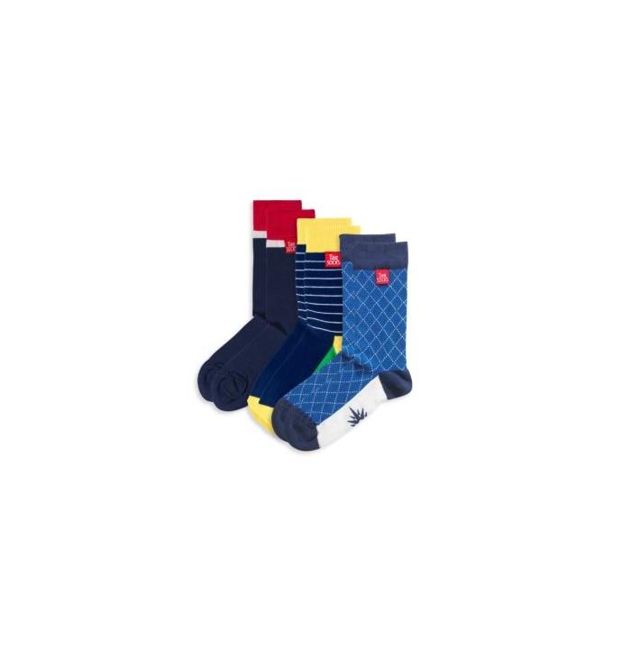 Tagsocks Multipack 3 Blue Note