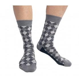 Tagsocks Checkered grey