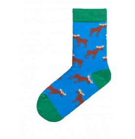 Swedish fika socks älg