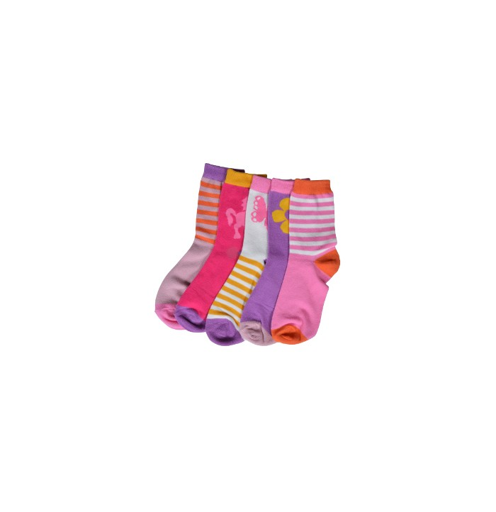 Melton - Morning glory pink 5-pack -880011-522
