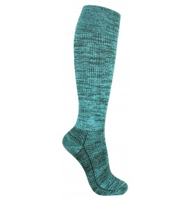 Compression turquoise random stripes - 5553-247407