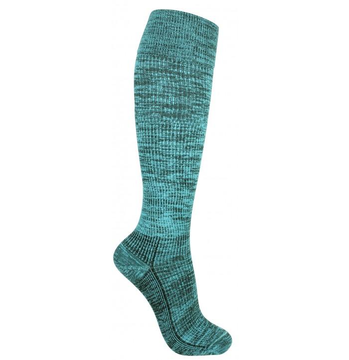 Compression turquoise random stripes - 5553-247407