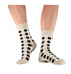 Tagsocks Checkered Clay