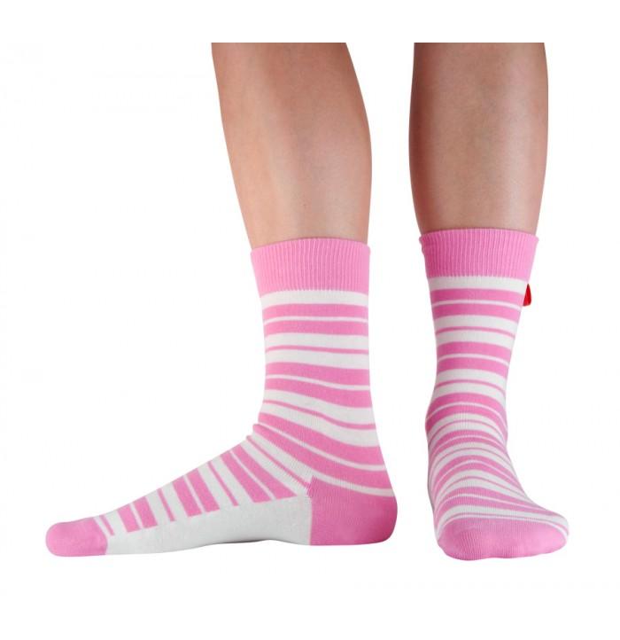 Tagsocks Lean pink