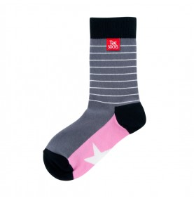 Tagsocks Pink Star1