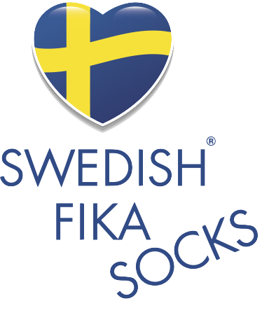 Swedish fika socks